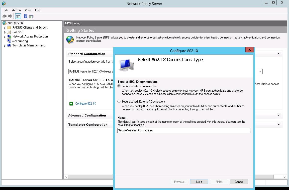 WLAN RADIUS Authentifizierung einrichten unter Windows Server 2012 ...